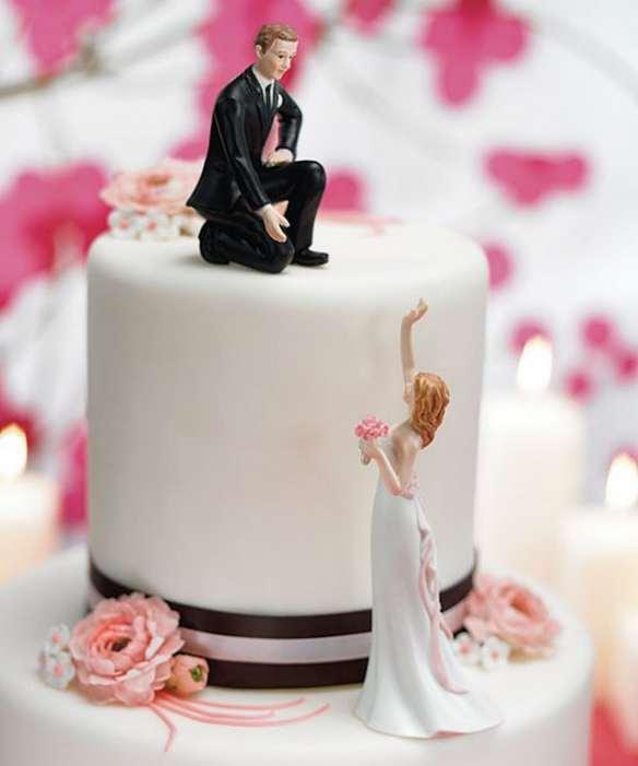 Торт свадебный от жениха